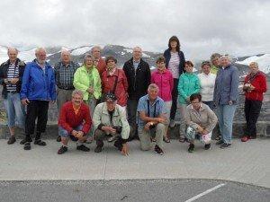 2014 Norwegen 10 Gruppe auf dem Dalsnibba 1500üNN
